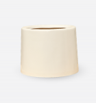 Fiber Round White 37x40